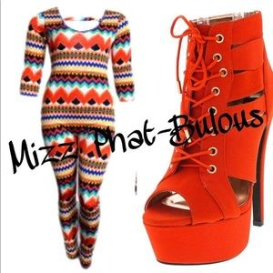 Other - Multi-Colored Plus Size Jumper